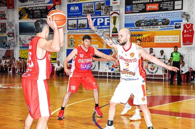 Sarmiento debutó con un triunfo en Santa Silvyna