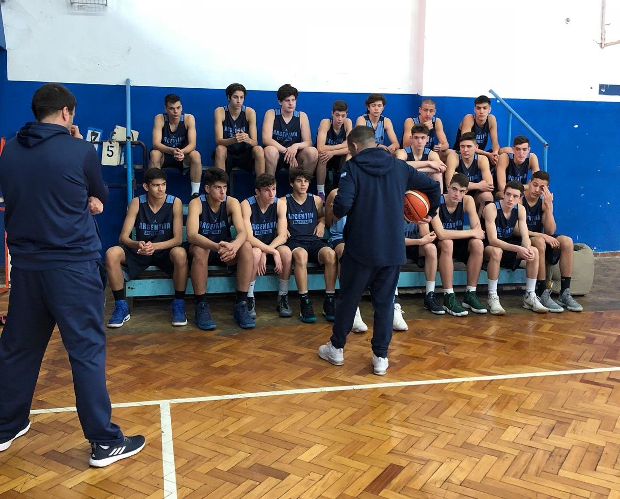Nueva concentración de la Selección Nacional U15 masculina