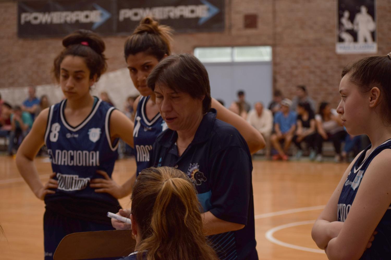 Una entrenadora del interior fue invitada a participar de la concentración de las U15