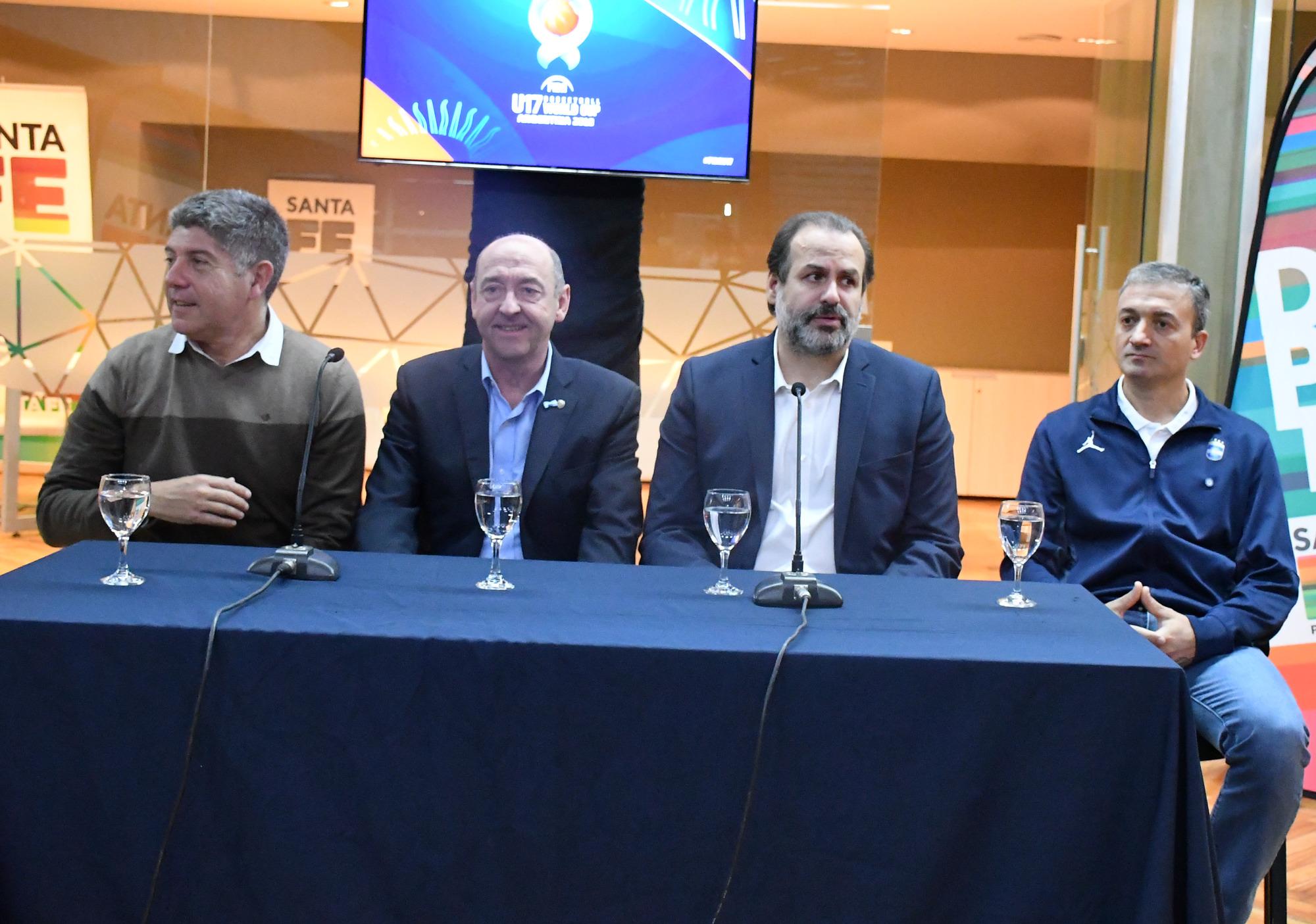 Se presentó oficialmente el Mundial U17 de Rosario y Santa Fe