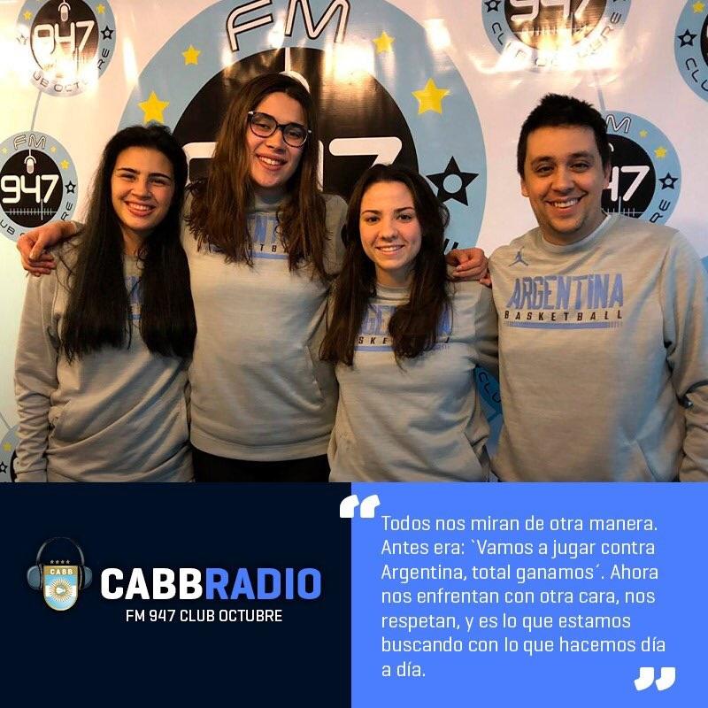 Las Hormigas en CABB Radio